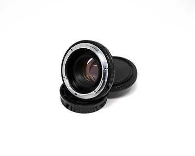 FD to Micro Four Thirds Focal Reducer (Generic) + Fotasy FD to M43 Extra