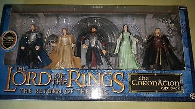 The Coronation Gift Pack exclusive Faramir & Eowyn Lord of Rings Toy Biz rar