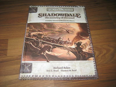 D&D 3.0 / 3.5 Forgotten Realms Shadowdale The Scouring of the Land HC NEU      j