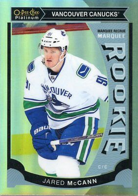 15/16 O-Pee-Chee Opc Platinum Rainbow Rookie Rc #M20 Jared Mccann Canucks *46469