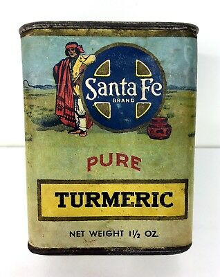 Santa Fe Brand Spice Tin - Ramney Davis Mercantile Co - Arkansas City, Kansas