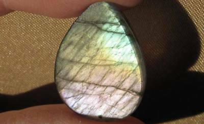 Low Start Bid Special ~ Labradorite Pastels With Lilac Purple Pink Orange Green