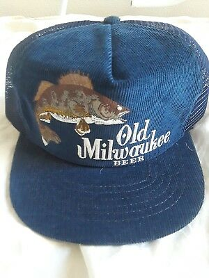 Vintage Old Milwaukee Beer Hat NOS!