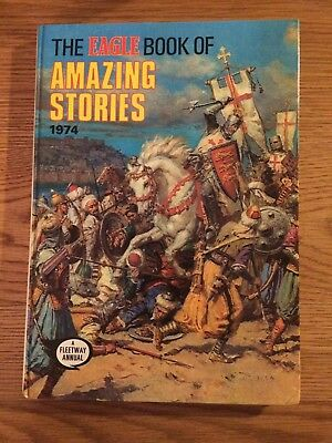 THE EAGLE BOOK OF AMAZING STORIES 1974 Hardback Annual Retro Collector's Item