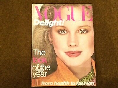 Vogue January 1978 englisch Werbung von Chanel Valentino Benson and Hedges etc