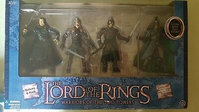 Herr der Ringe - Toy Biz -  - Warriors of the two Towers -DELUXE  4-Pack