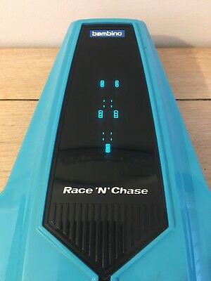 Vintage 1980s Bambino Race N Chase Electronic Hand Held Game