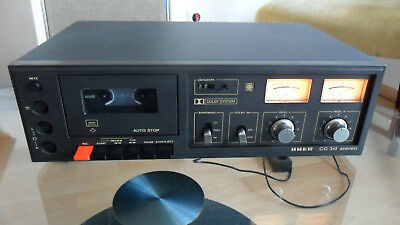 UHER CG 310 Stereo Tapedeck Fully working!