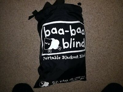 Gro anywhere Baa Baa Portable Blackout Blind - with suction cups