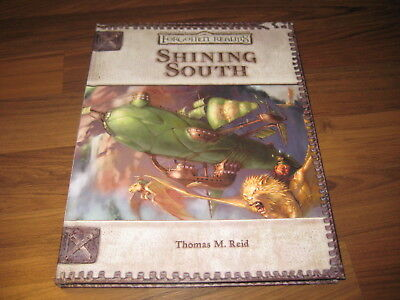 D&D 3.0 / 3.5 Forgotten Realms Shining South 2004 Hardcover WotC 17929