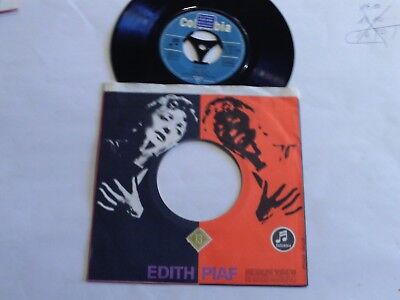"Edith Piaf - Je Sais Comment - Milord - 7"" Single - Columbia"