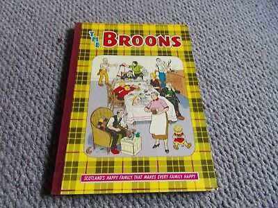 The Broons annual pub.  1971. In very good condition