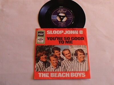 "The Beach Boys - Sloop John B - You´re So Good To Me - 7"" Single - Capitol 23183"