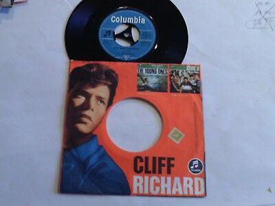 "Cliff Richard - Rote Lippen Soll Man Küssen - Let´s Make - 7"" Single - Columbia"