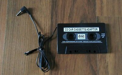 Auto Kassetten Adapter KFZ Kabel CD Car Cassette Adaptor MP3 Handy Tablet 3,5mm