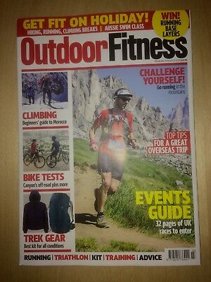 Outdoor Fitness - Running , Cycling , Swimming Magazine - March 2018