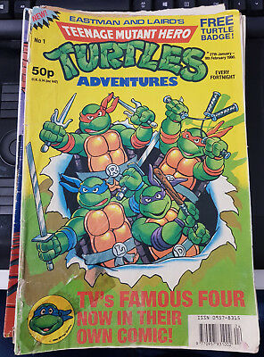 Teenage Mutant Hero Turtles Adventures (1990s comics)