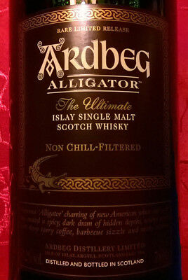 Ardbeg ALLIGATOR Islay Single Malt Scotch Whisky Rare Limited Release!! 51,2%!!