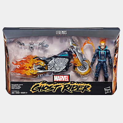 """Marvel Legends 6"""" ULTIMATE GHOST RIDER & DELUXE MOTORCYCLE WAVE 1 NEW IN STOCK"""