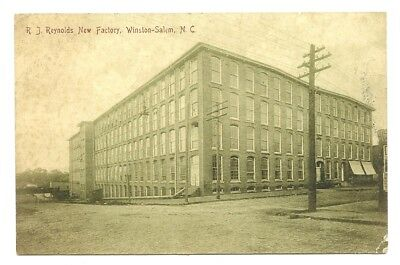 Old Winston Salem Nc View Of The Large R. J. Reynolds Tobacco Factory
