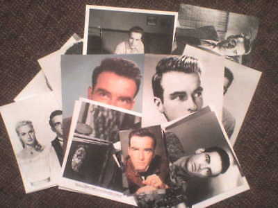 20 photos + 1 carte (postcard) sur Montgomery Clift ! Collector pour fans