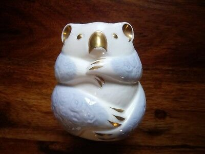 BONE CHINA MINTON Animal Figurine - Koala Bear