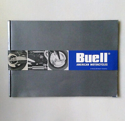 Original Buell range brochure X1 M2 S3 ,First year of production.