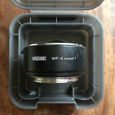 New Metabones Nikon F Lens to Sony E-mount Adapter