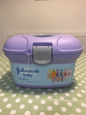 Johnson's Baby Skincaring Essentials Box Ideal Gift Present
