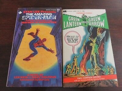 Amazing Spider-Man and Green Lantern Paperback Comics