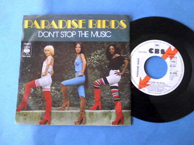 Paradise Birds  Don't Stop The Music  1977 Cbs S 5878  Promo-Single