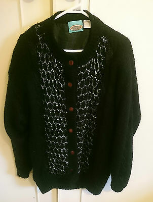 First Cut Clothing Co Vintage Mohair Cardigan, size M