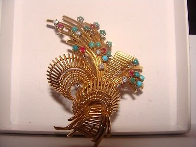 Broche En Or 18 Ancienne