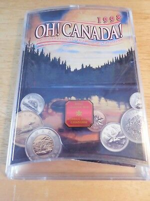 Canada 1998W Oh Canada Uncirculated Coin Set   Royal Canadian Mint