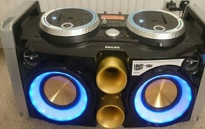 Philips FWP3200 & 2 x FWP 1000 MP3 Mini Hi-Fi Music System with iPod/iPhone Dock