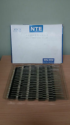 NTE Long Arm Hinge Lever 51mm Micro Switch SPDT 250v  - Box of 100