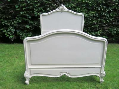 Antique French Louis Xv Revival Double Bed 1890