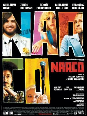 NARCO. Film 35mm . Version Française. Guillaume Canet, G Lellouche B. Poelvoorde