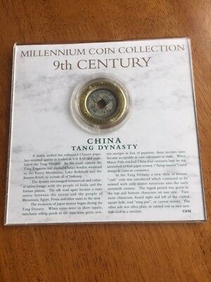 Millennium Coin Collection - 9TH CENTURY CHINA TANG DYNASTY