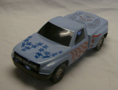 Blue Jim Beam Member Pick-Up Truck Decanter made in 2002 Marked #83 of 175 made