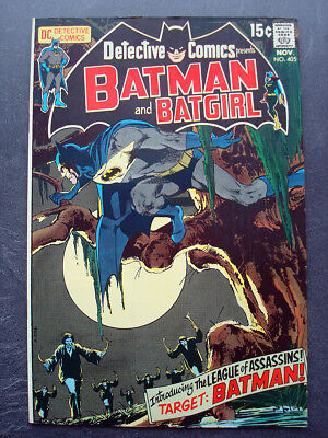 Detective Comics (1937 1st Series) #405, high grade! 1970 Neal Adams