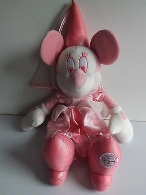 Disney Store Large Minnie Mouse Doll Pink Soft Plush Toy  Store Exclusive