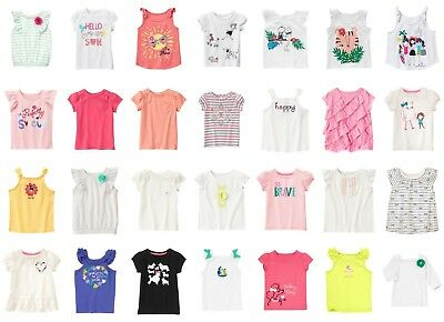 NEW GYMBOREE girls summer short sleeve tee size 3T 4T 5T YOU PICK NWT pink beach