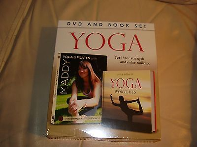 Yoga And Pilates With Maddy Dvd And Book Set