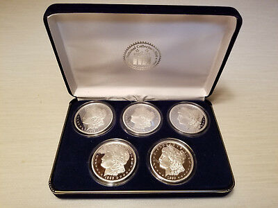 National Collector's Mint-Million Dollar Morgan Tribute Proof Collection. W/coa