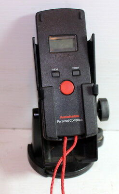"""Classic """"Autohelm"""" electronic hand bearing compass with base stand nice!"""