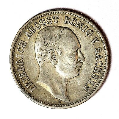 Germany/Saxony Silver 2 Mark 1907-E
