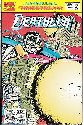 DEATHLOK  #1 ANNUAL 1992 ''TIMESTREAM''  GUICE-p/ QUESADA-c...NM-
