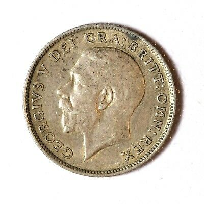 Great Britain Silver 6 Pence 1918