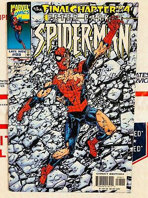 Spiderman 98! Spidey Defeated Variant Cover! Look at all my .99 books!